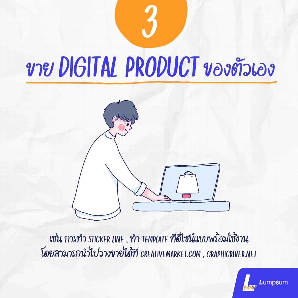 สร้าง Passive Income ด้วยการขาย Digital Product